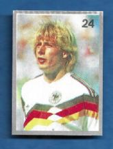 West Germany Jurgen Klinsmann 24